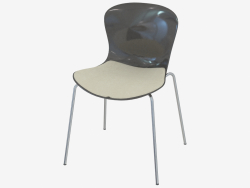 चार पैरों के साथ एक कुर्सी झुकाव
