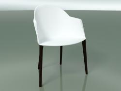 कुर्सी 2223 (4 लकड़ी के पैर, PC00001 पॉलीप्रोपाइलीन, वेज)