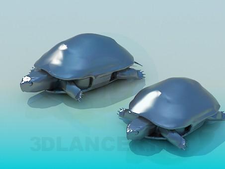 3d модель Черепахи – превью