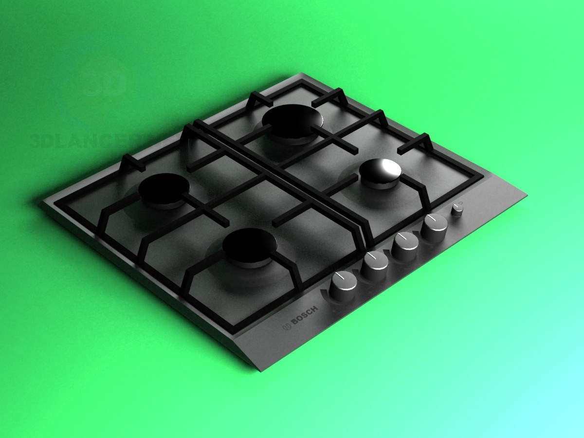 3d model Cooking surface - preview