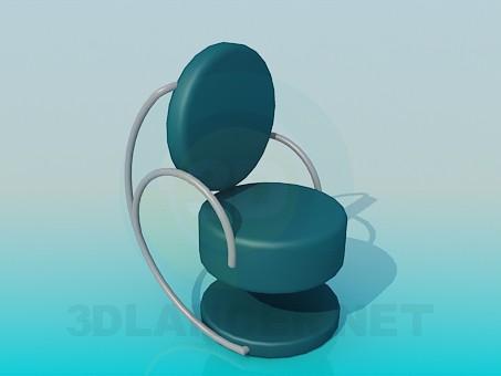 descarga gratuita de 3D modelado modelo Silla para cafetería
