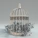 3d Decorative cage model buy - render