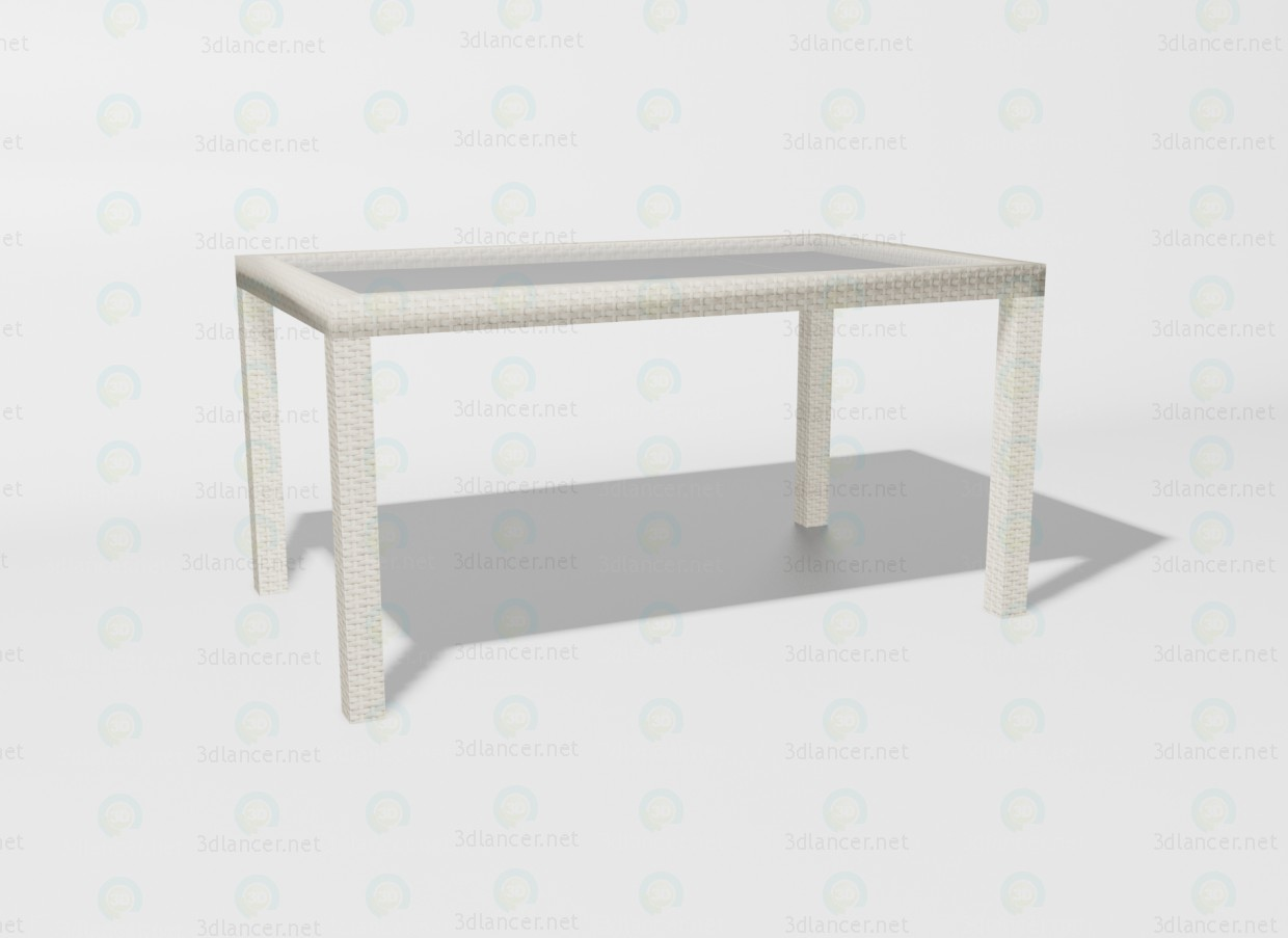 3d model TAURUS table - preview