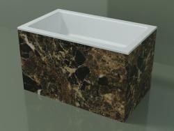 Vasque à poser (01R132101, Emperador M06, L 60, P 36, H 36 cm)