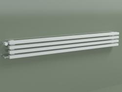 Radiateur horizontal RETTA (4 sections 1500 mm 60x30, blanc brillant)