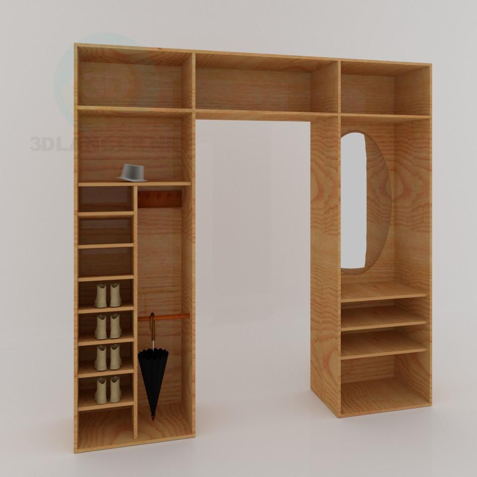 3D Modell Halle - Vorschau