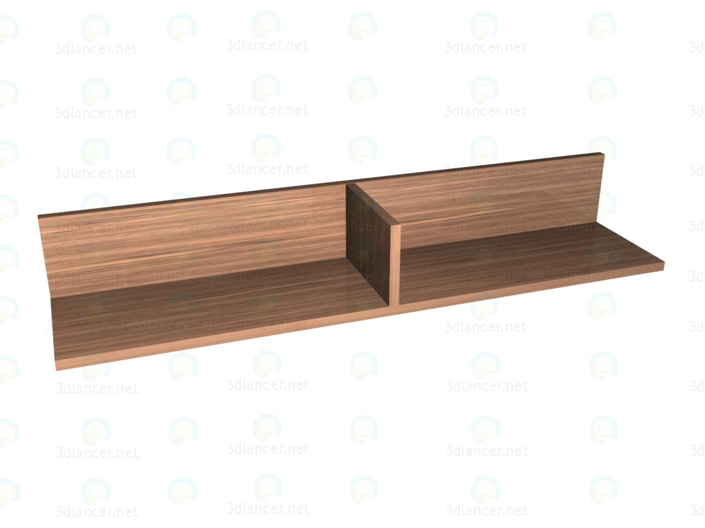 3d model Shelf - preview