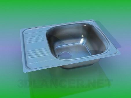 3d model Fregadero de cocina - vista previa
