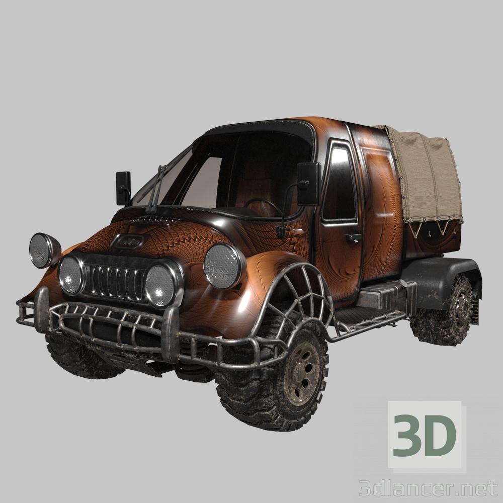 3d MVm car model buy - render