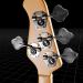 3d Bass, electric guitar model buy - render