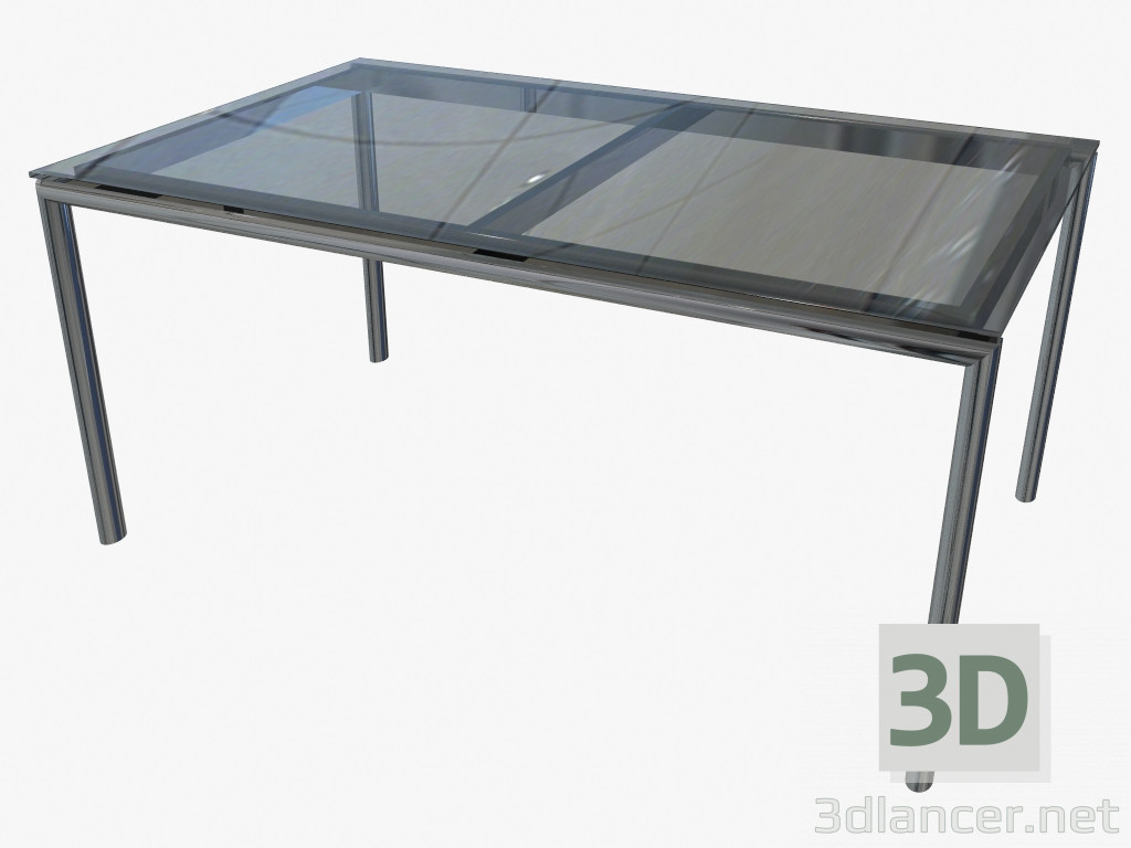 3d model dining table 160x100 manufacturer triconfort id for Table 3d model