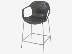 Bar chair with armrests Nap