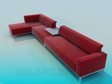 3d model Marvelous corner - preview