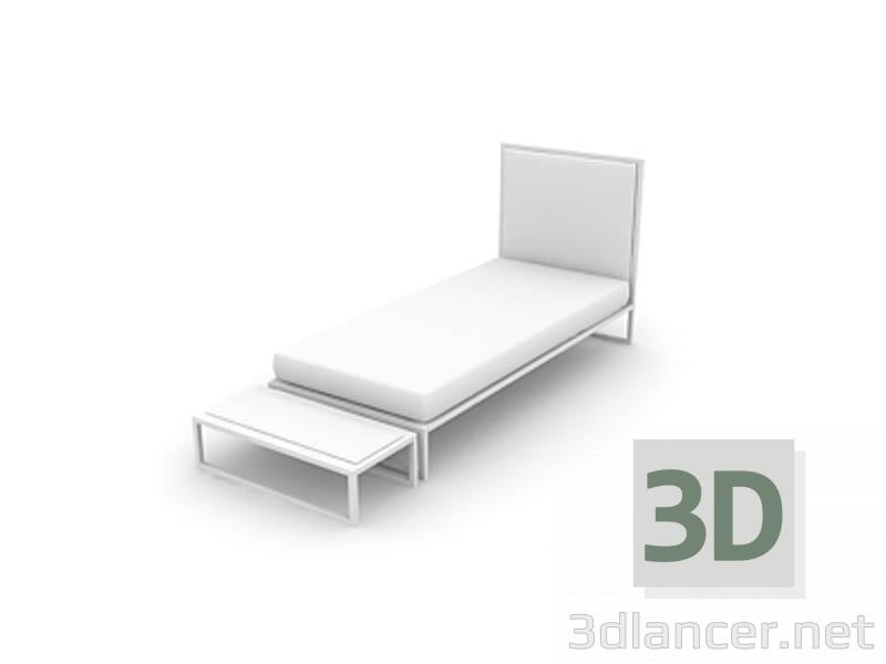 3 डी मॉडल बिस्तर - पूर्वावलोकन
