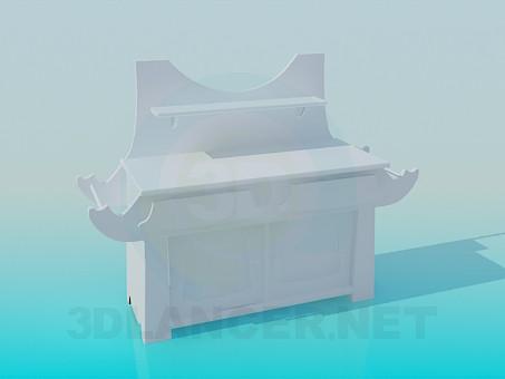 3D Modell Fußboden im Bad - Vorschau