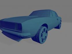 Chevrolet Camaro SS 67 - Printable toy