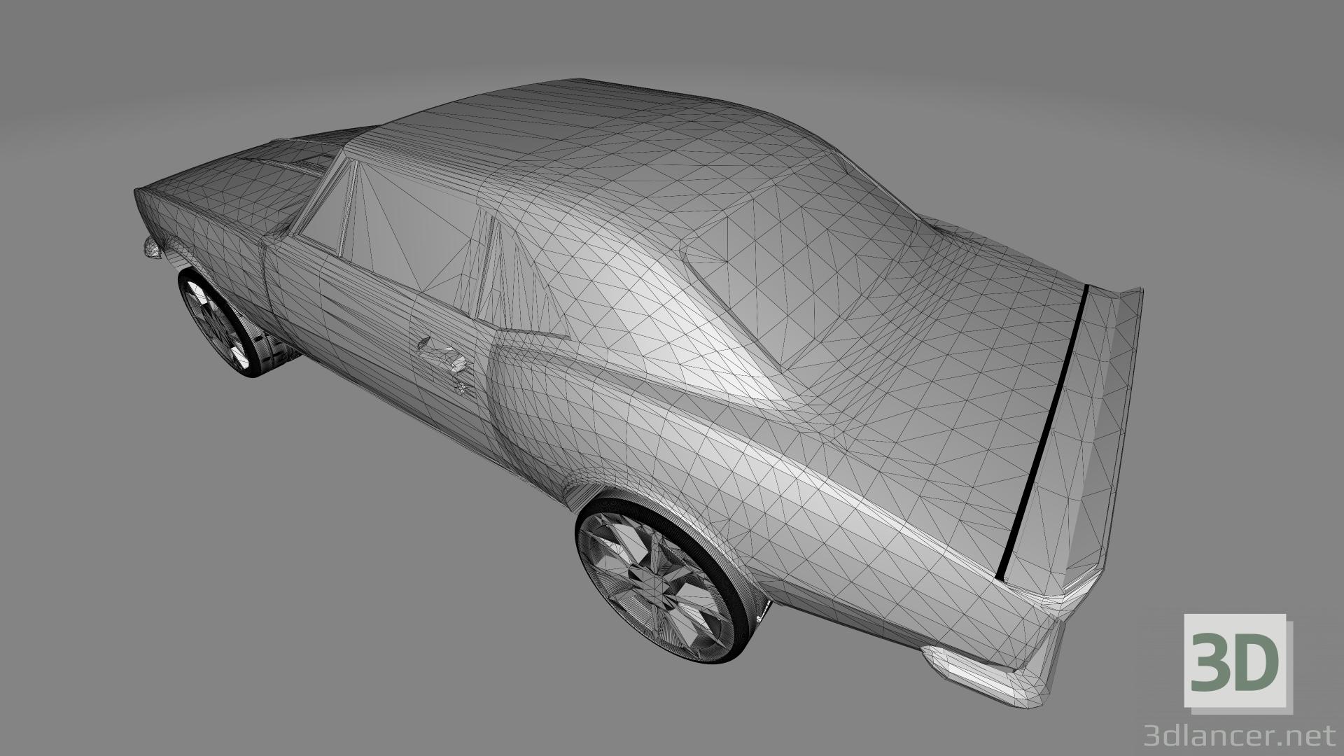 3d Chevrolet Camaro SS 67 - Printable toy model buy - render