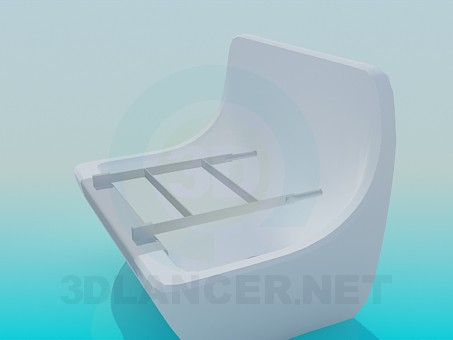3d model Bath for disabled - preview