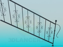 Railings for steps