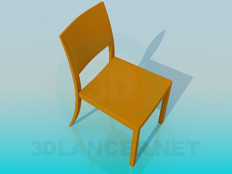 3d model Normal stool - preview
