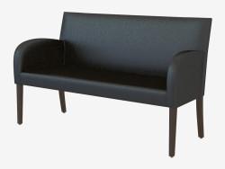 Sofá moderno de cuero Iber 2