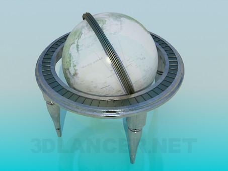3d модель Глобус – превью