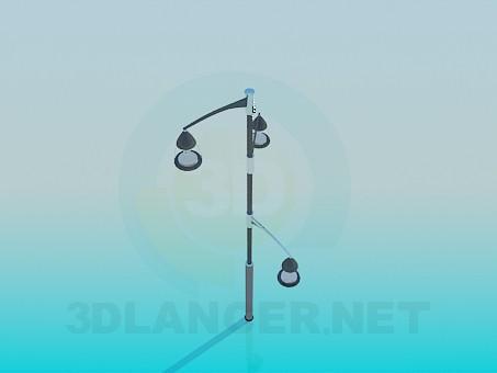 modelo 3D Linterna - escuchar