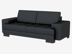 Leather sofa modern Kai