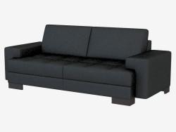 Sofá de cuero moderno Kai