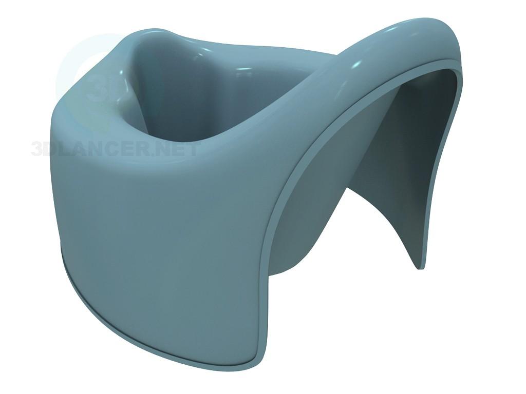 modelo 3D Orinal infantil - escuchar