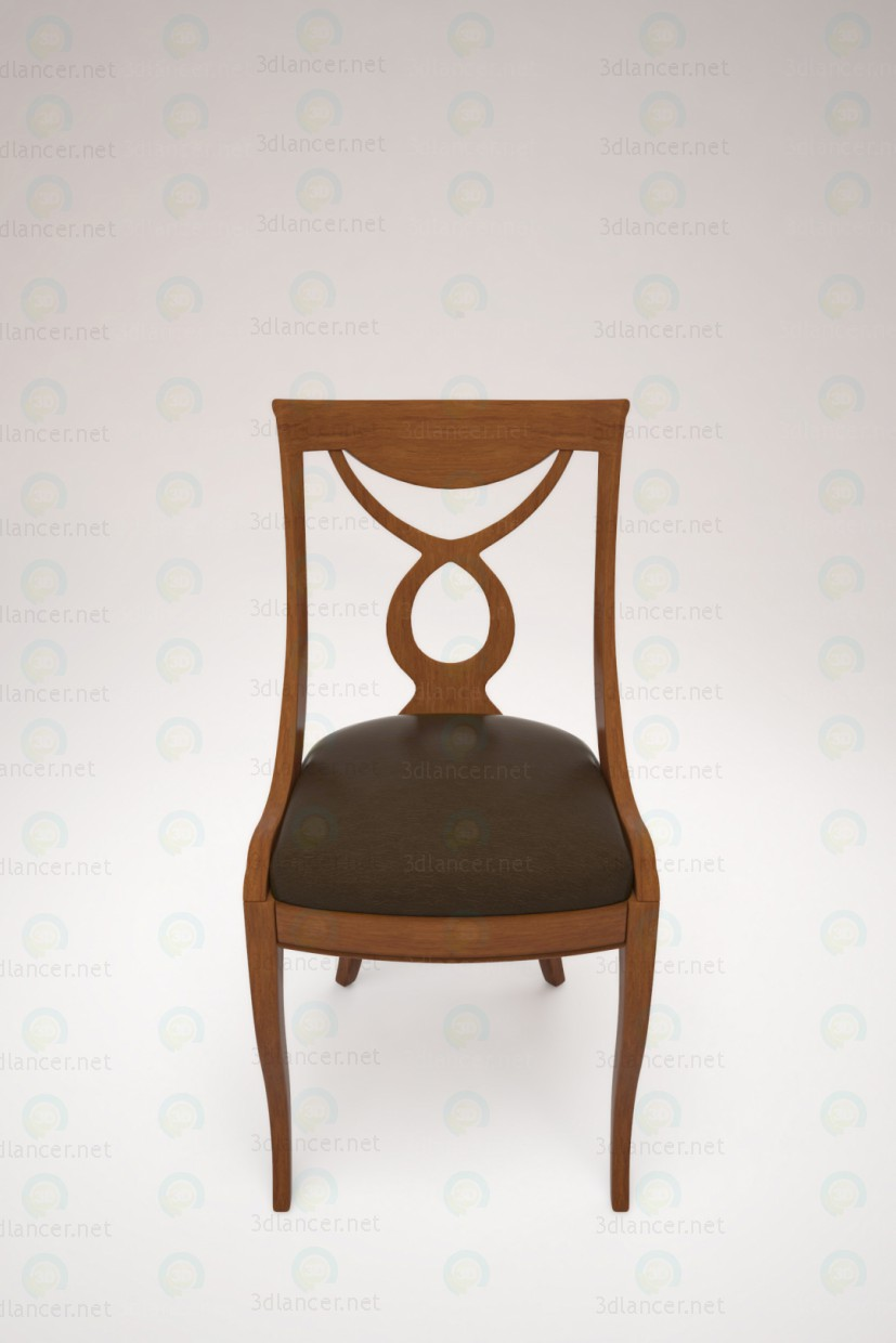 Desk chair paid 3d model by Trygve preview