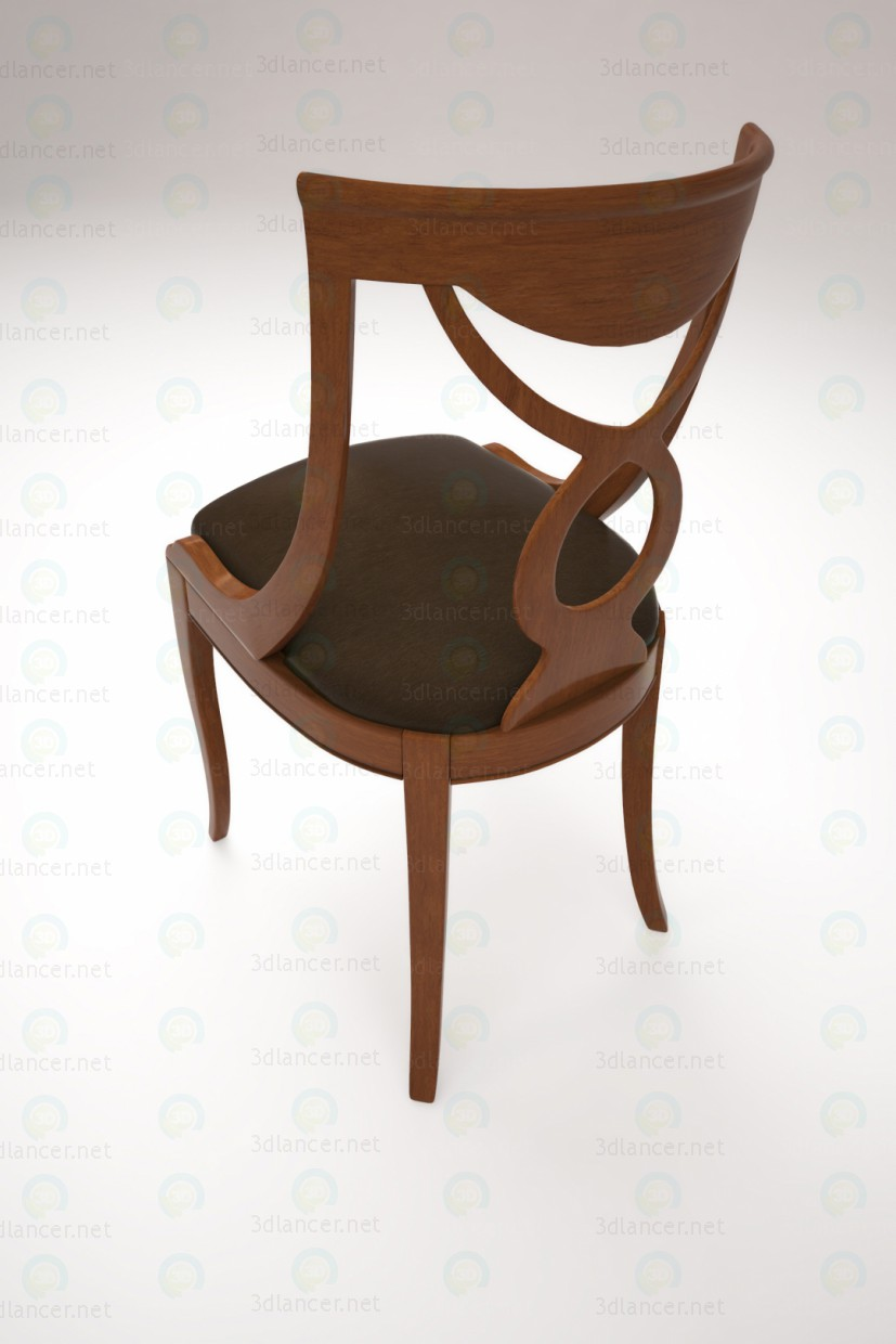 3d Desk chair model buy - render