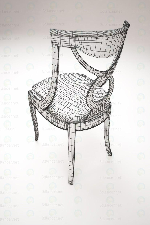 Silla de escritorio 3D modelo Compro - render