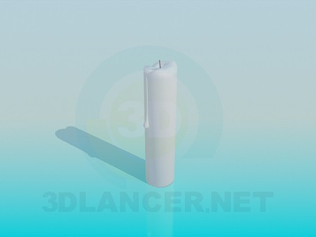 3d model Candle - preview