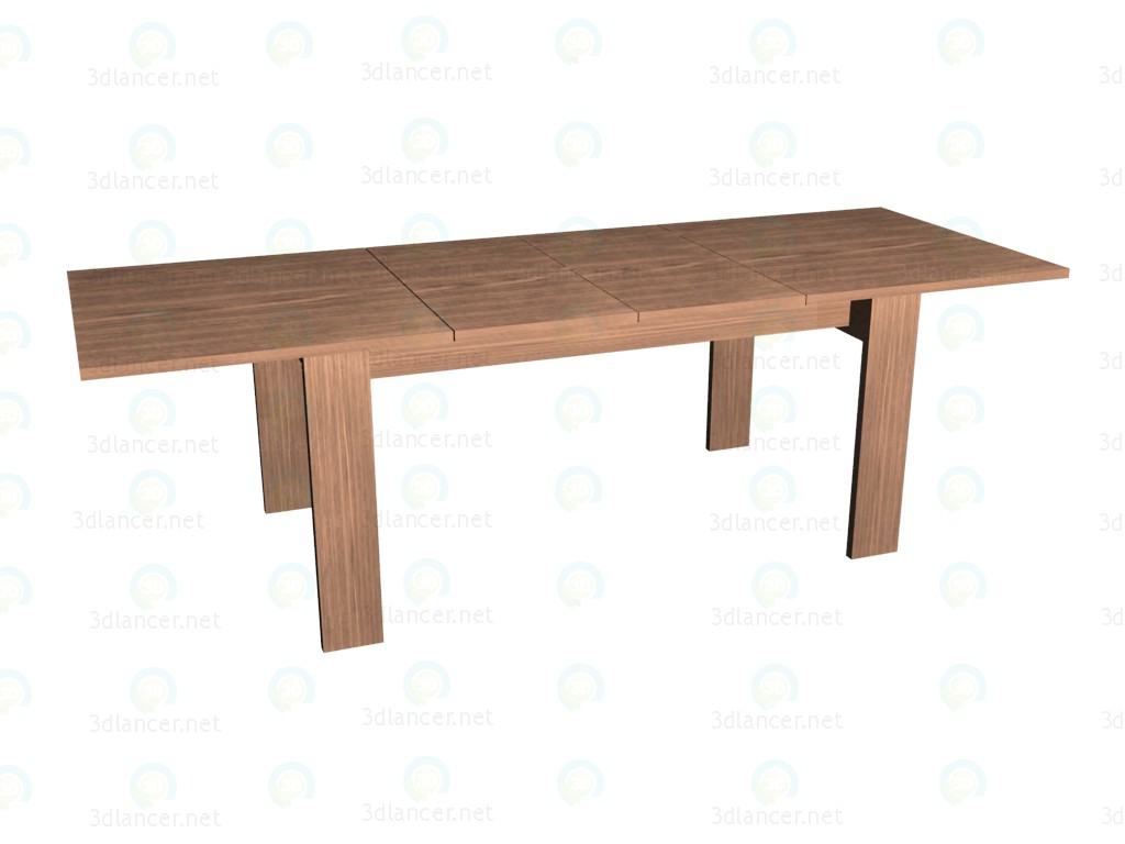 3d model Folding table (unfolded) VOX - preview
