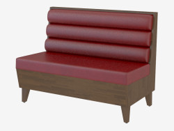 Sofá moderno Kalina Settee