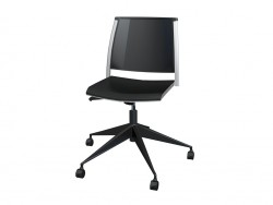 Office chair without armrests, polipro