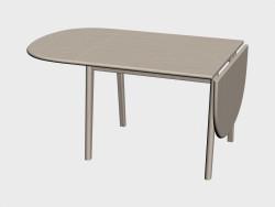 Yemek masası (ch002, bir kenar yükseltilir)
