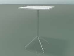Square table 5714, 5731 (H 105 - 69x69 cm, spread out, White, LU1)