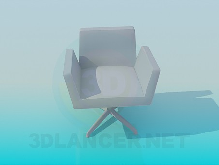 3d modeling Chair in the Office model free download