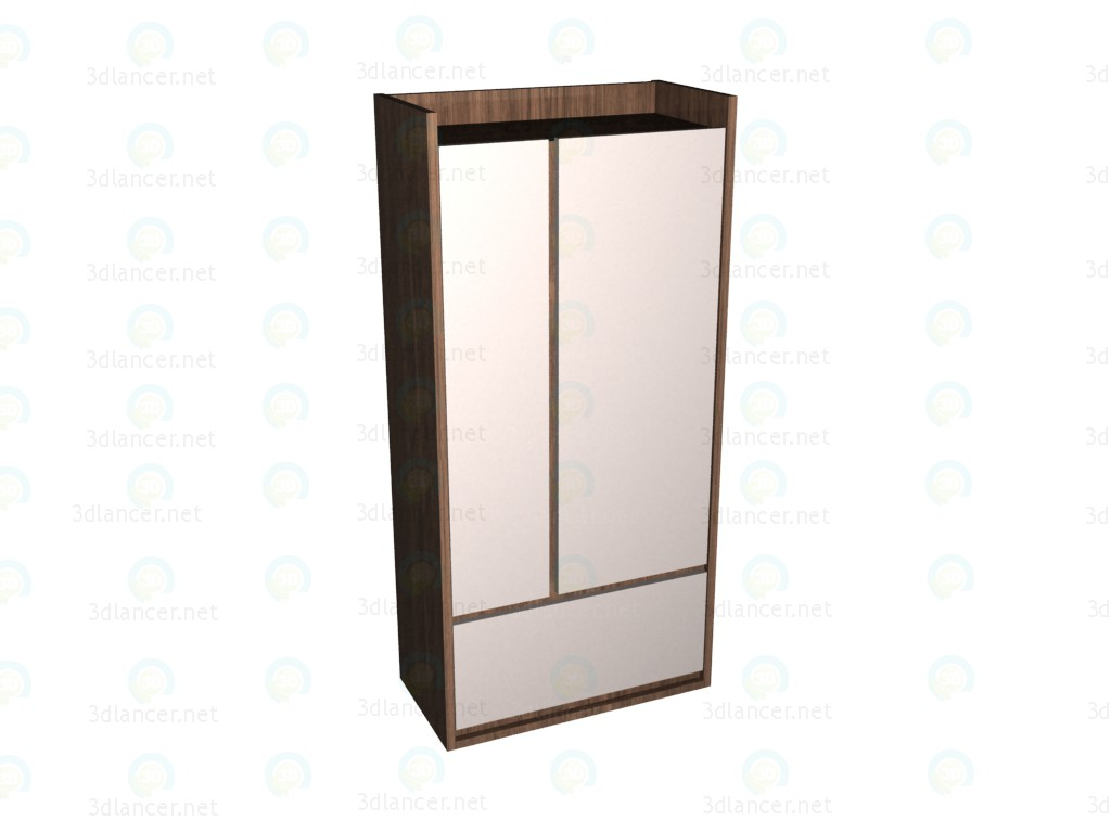 3d model Wardrobe 2-door VOX - preview
