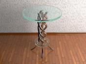 ग्लास टेबल