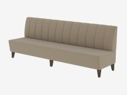Sofá moderno Lotti Settee