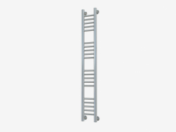 Bohemia heated towel rail + straight (1200x150)