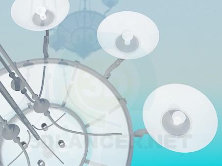 modelo 3D Lámpara para la habitación grande - escuchar