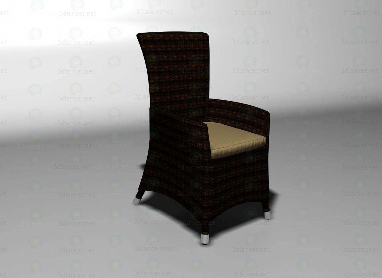 3d модель Summer кресло – превью