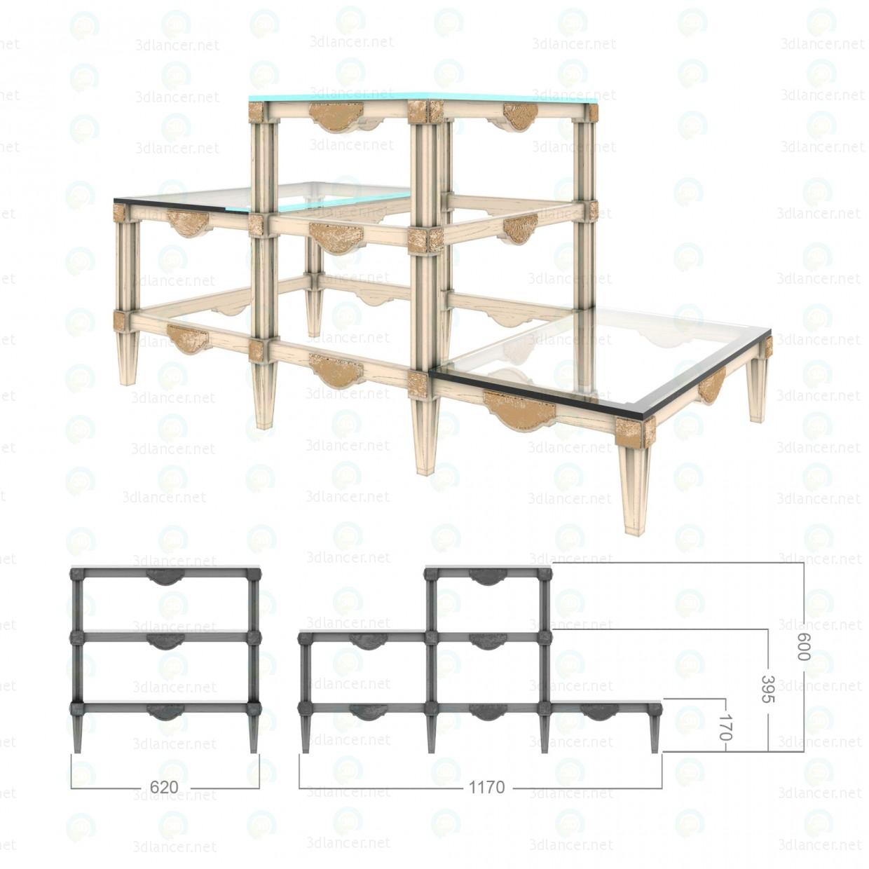 3d модель Подставки для комнатных растений – превью