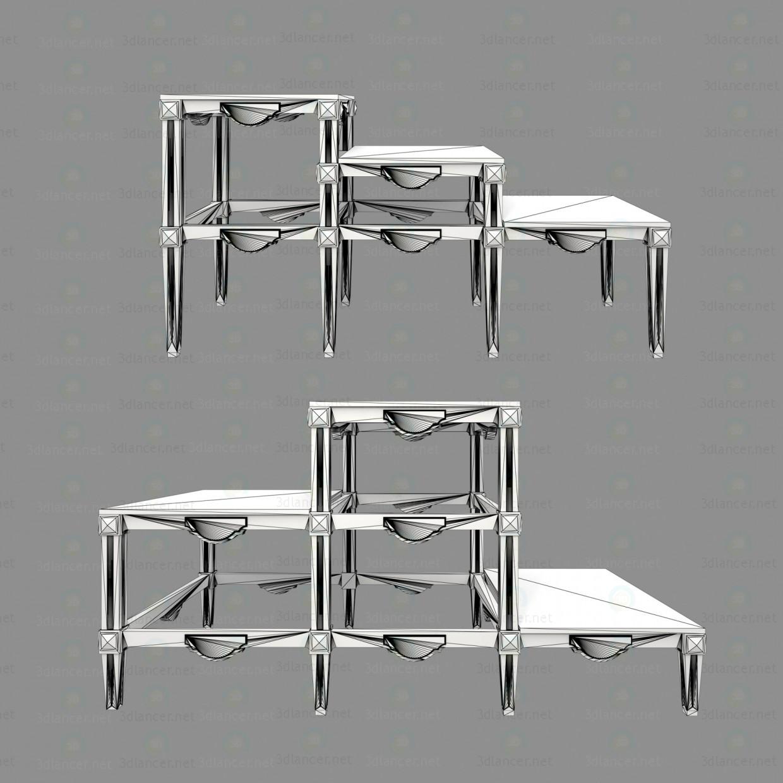 3d модель Підставки для кімнатних рослин – превью