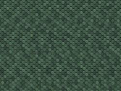 Гнучка черепиця безшовна, зелена