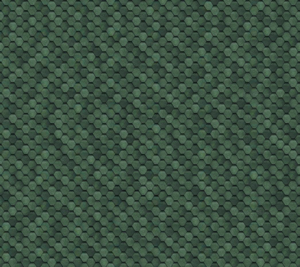 Гибкая черепица бесшовная, зеленая скачать текстуру - привью